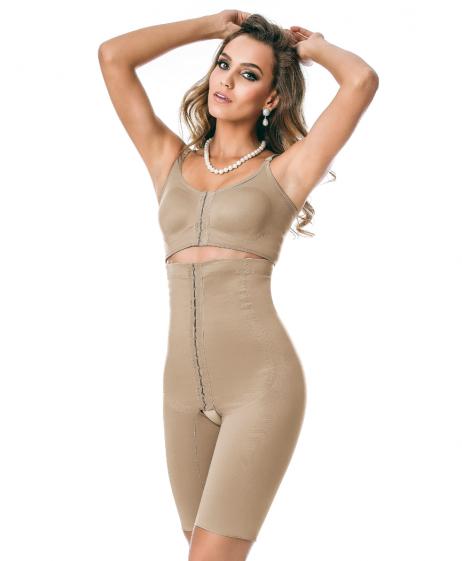 Cinta Modeladora Yoga Tecido Duplo | 3026 DU