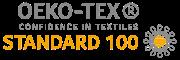 A YOGA é Certificada em OEKO-TEXT STANDARD 100