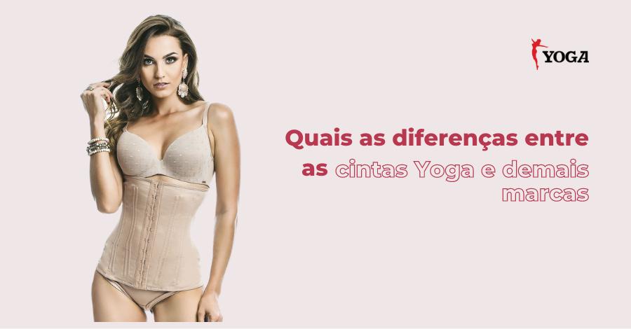 Quais as diferenças entre as cintas Yoga e demais marcas